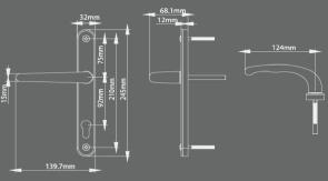Lever Handle RX-T6213CH