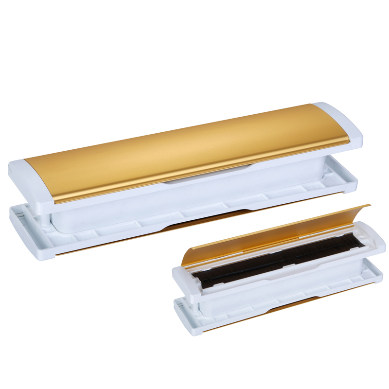 Patented new Aluminiu mail slot-stndard cover-Oxidate gold