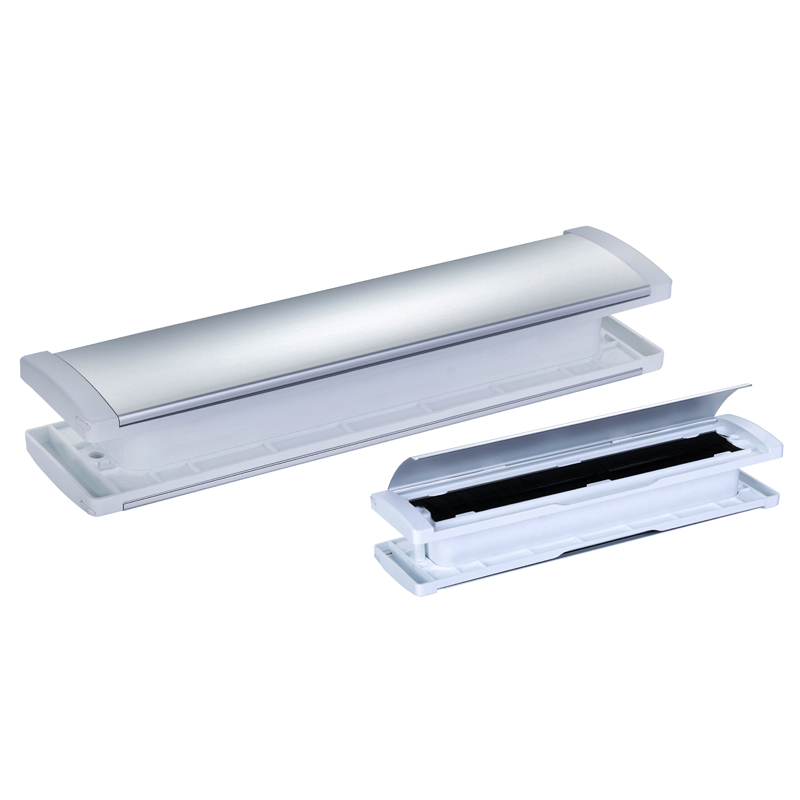 Patented new Aluminiu mail slot-stndard cover-oxidated silver