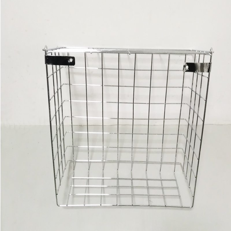 Patented new stainless steel mail slot basket